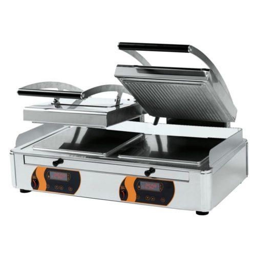 Duplex Kontakt Grill 2x4 - Neumärker - Gastroworld-24