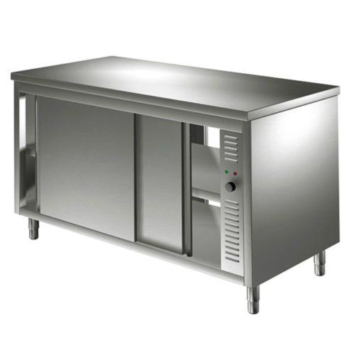 Durchreichewärmeschrank mit Schiebetüren, 1200x700 mm - Virtus - Gastroworld-24