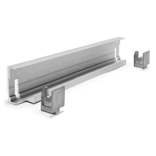 Eckmontageschiene für Aluminiumregal T=470 mm - Virtus - Gastroworld-24