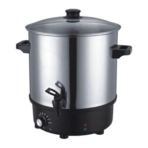 Einkochtopf / Glühweintopf, Ø 430x530 mm, 30 Liter, 230 V, - GGG - Gastroworld-24