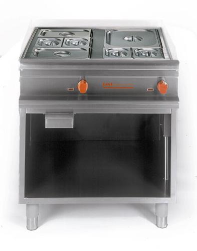 Elektro Bain Marie GN 2/1 offener Unterbau Anschlusswert:3kW 220 - Produkt - Gastrowold-24 - Ihr Onlineshop für Gastronomiebedarf