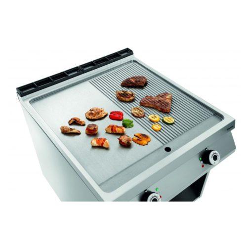 Elektro-Griddleplatte, 1/2+1/2, OU - Bartscher - Gastroworld-24