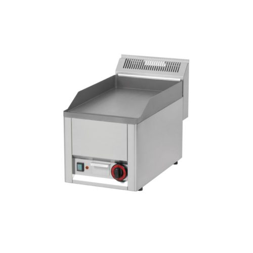 Elektro Griddleplatte, glatt, 330x600x290 mm, aus Edelstahl, - GGG - Gastroworld-24