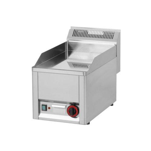 Elektro Griddleplatte, glatt, 330x600x290 mm, verchromt, - GGG - Gastroworld-24