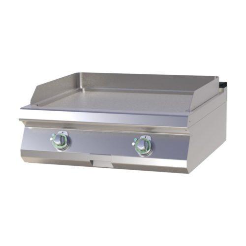 Elektro Griddleplatte, glatt, 800x730x300 mm, - GGG - Gastroworld-24