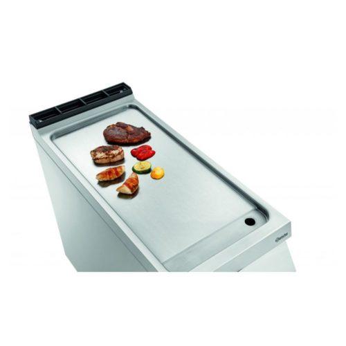 Elektro-Griddleplatte glatt, OU - Bartscher - Gastroworld-24