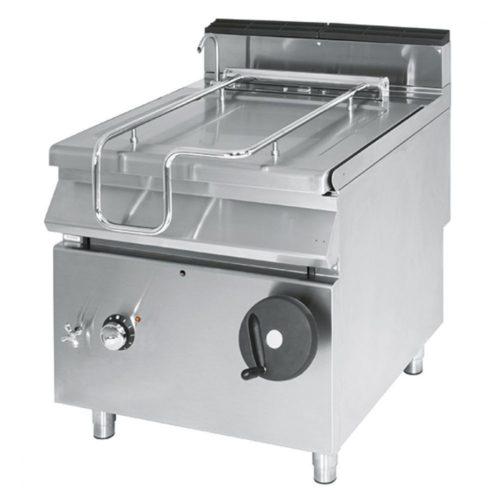 Elektro-Kippbratpfanne, Kapazität 50 Liter, Edelstahl-Becken - Virtus - Gastroworld-24