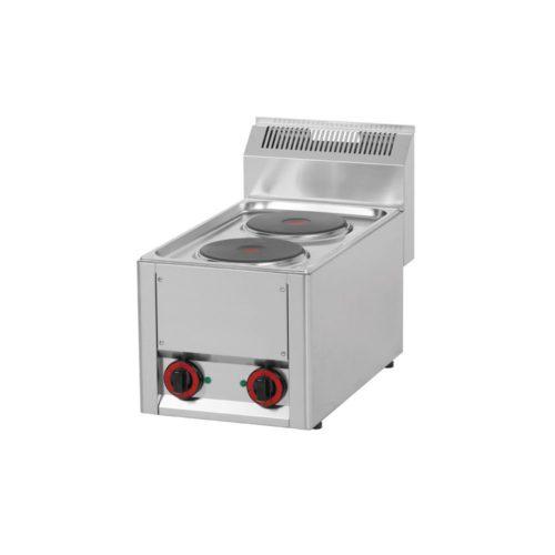Elektro Kochfeld, 330x600x290 mm, 2 Kochplatten, - GGG - Gastroworld-24