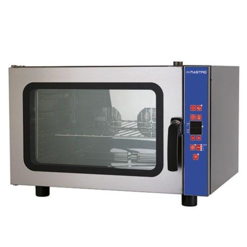 Elektro-Kombidämpfer mit Befeuchter, programmierbar, 4x GN 1/1 oder 600x400 mm - Virtus - Gastroworld-24