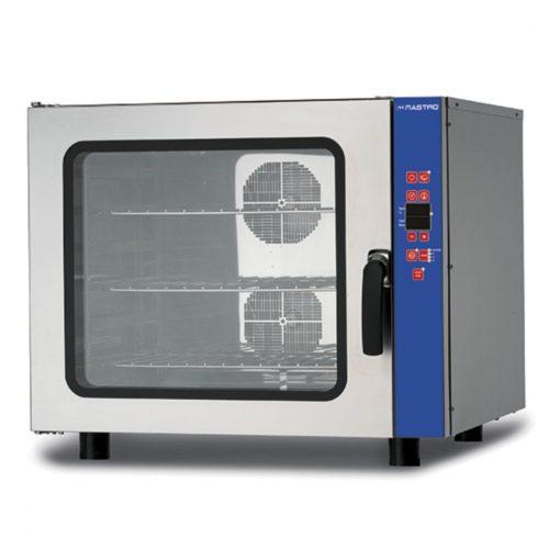 Elektro-Kombidämpfer mit Befeuchter, programmierbar, 6x GN 1/1 oder 600x400 mm - Virtus - Gastroworld-24