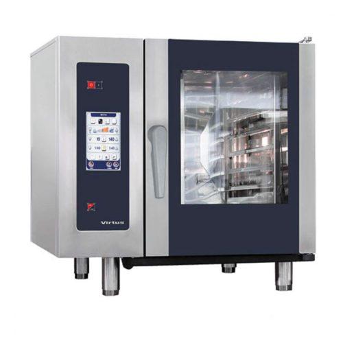 Elektro-Kombidämpfer mit Boiler und automatischem Reinigungssystem, 6x GN 1/1 - Virtus - Gastroworld-24