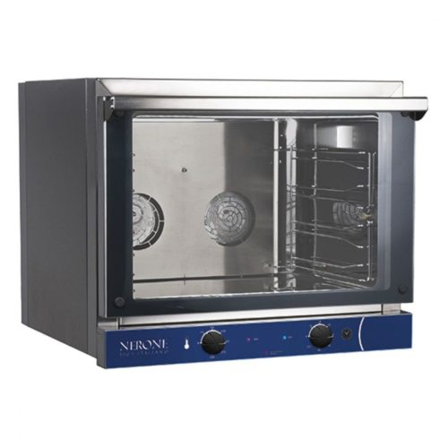 Elektro-Konvektionsofen, mechanische Bedienung, 4x GN 1/1 - Virtus - Gastroworld-24