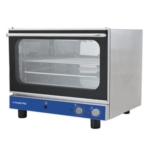Elektro-Kovenktionsofen 4x GN 1/1- Set 600x400 mm mit Befeuchter und 2 Ventilatoren - Virtus - Gastroworld-24