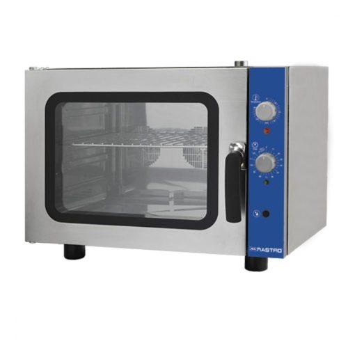 Elektro-Kovenktionsofen 4x GN 2/3 mit Befeuchter und 2 Auto-reverse Ventilatoren - Virtus - Gastroworld-24