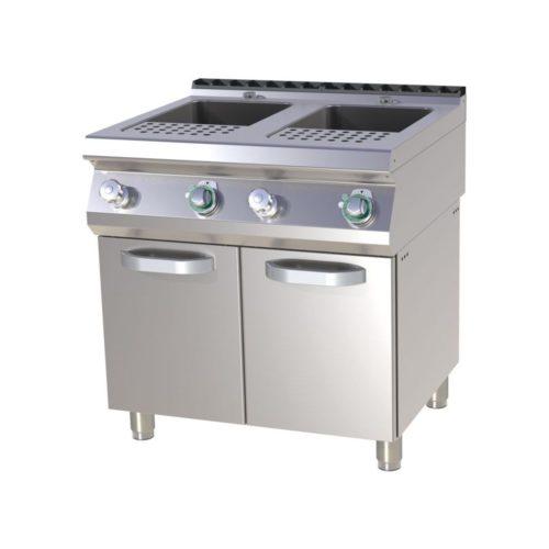 Elektro Nudelkocher, 800 x 730 x 850-895 mm, 2x 23 L, - GGG - Gastroworld-24