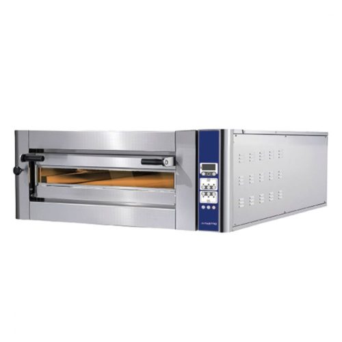 Elektro-Pizzaofen für 4 Pizzen ø 350 mm, elektronische Bedienung - Virtus - Gastroworld-24