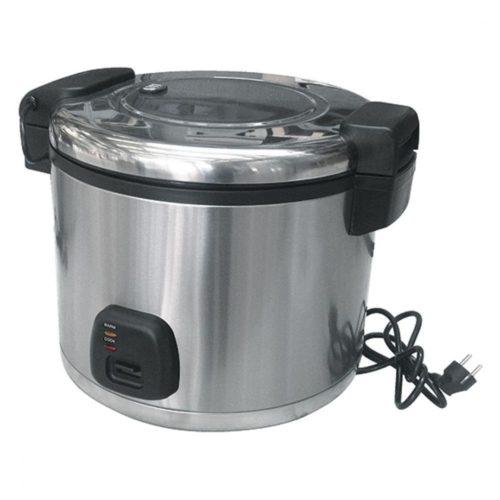 Elektro-Reiskocher in Edelstahl, 10 Liter - Virtus - Gastroworld-24