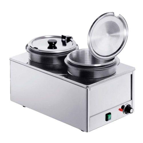 Elektro Suppenstation 2x 8 Liter - Neumärker - Gastroworld-24