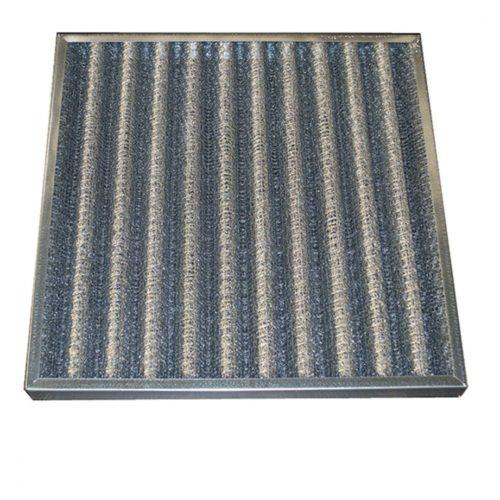 Fettfilter mit Metallgitter, 592x592x48 mm - Virtus - Gastroworld-24