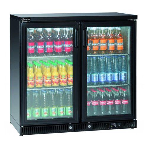 Flaschenkühler 220L, 2 Türen - Bartscher - Gastroworld-24