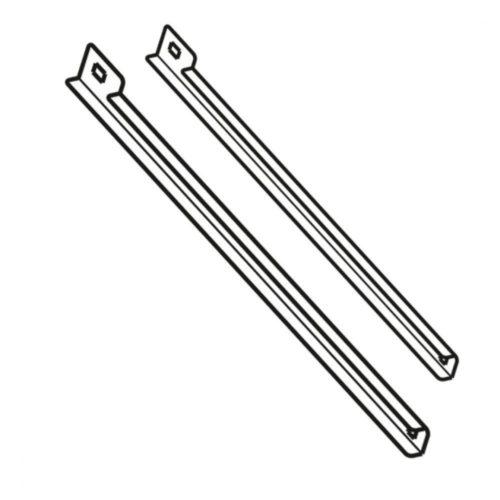Führungssschienen-Set für Kühltische T=600 mm - Virtus - Gastroworld-24