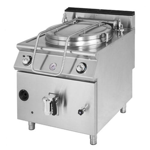 Gas-Kochkessel, indirekte Beheizung, Kapazität 50 Liter - Virtus - Gastroworld-24