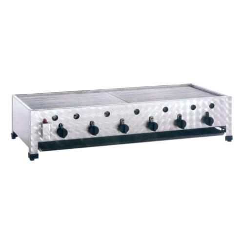 Gas-Kombibräter, Abmessungen: 1145x530x280 mm, - GGG - Gastroworld-24