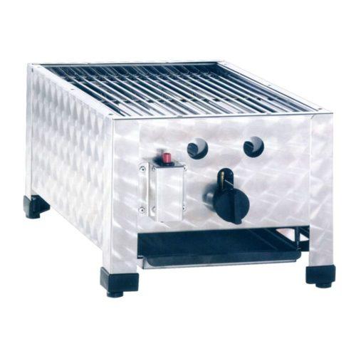 Gas-Kombibräter, Abmessungen: 340x530x280 mm, - GGG - Gastroworld-24