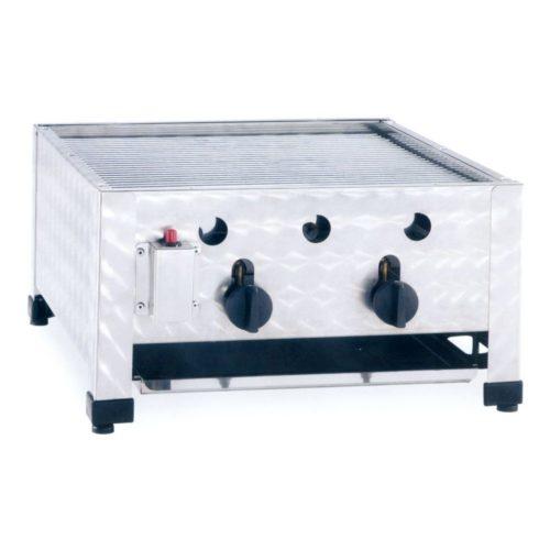 Gas-Kombibräter, Abmessungen: 485x530x280 mm, - GGG - Gastroworld-24