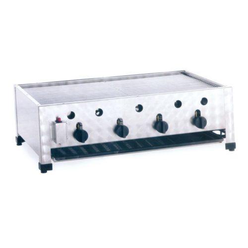 Gas-Kombibräter, Abmessungen: 815x530x280 mm, - GGG - Gastroworld-24