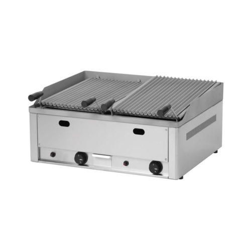 Gas-Lavasteingrill, 660x540x220mm, 13kW, - GGG - Gastroworld-24