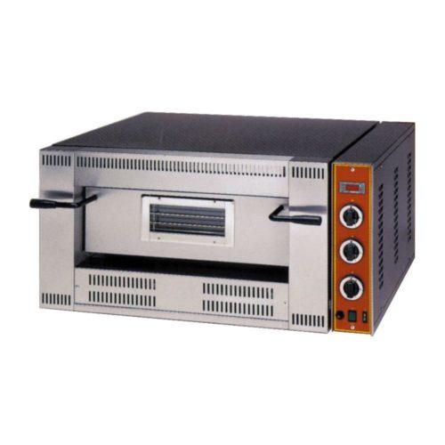 Gas-Pizzaofen, für 4 Pizzen, 1000 x 840 x 470 mm, regelbarer - GGG - Gastroworld-24