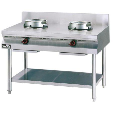 Gas Wokherd NGER9-60 - 2 Brenner - Produkt - Gastrowold-24 - Ihr Onlineshop für Gastronomiebedarf