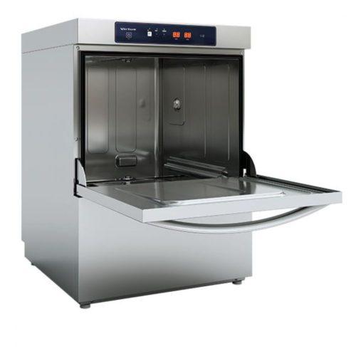 Geschirrspüler mit Spülmitteldosierer, elektronisch, Korbmaß 50x50 cm, max H=38 cm - Virtus - Gastroworld-24