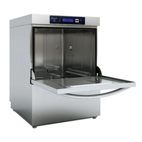 Geschirrspüler mit Spülmitteldosierer und Ablaufpumpe, digital, Korbmaß 50x50 cm, max H=38 cm - Virtus - Gastroworld-24