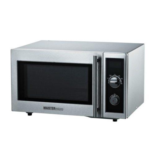 Gewerbe-Mikrowelle, 520x456x312 mm, Gehäuse und Garraum: - GGG - Gastroworld-24