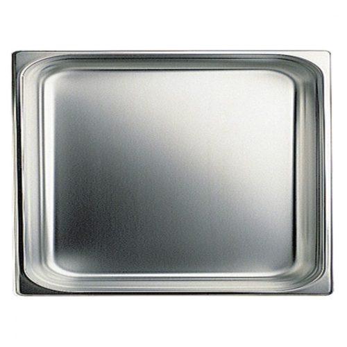 GN Behälter in Edelstahl, GN 2/1 H=65 mm - Virtus - Gastroworld-24