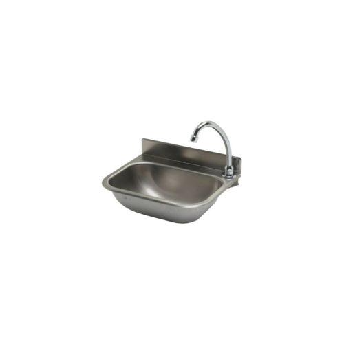 Handwaschbecken 380x290 mm, Edelstahl, - GGG - Gastroworld-24