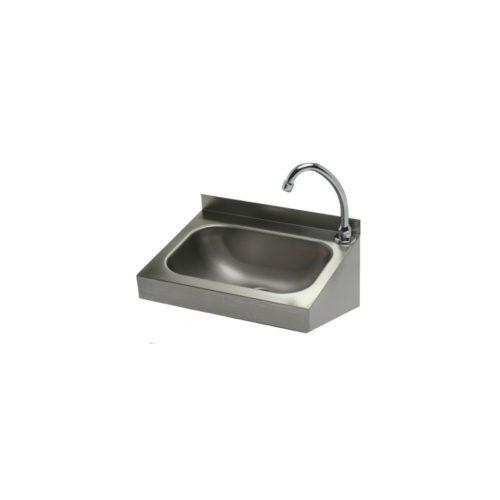 Handwaschbecken 400x320 mm, Edelstahl - GGG - Gastroworld-24