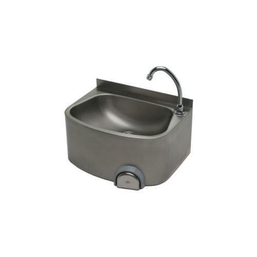 Handwaschbecken 480x350 mm, Edelstahl - GGG - Gastroworld-24