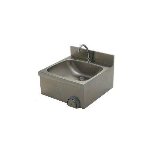 Handwaschbecken 500x500x235 mm, Edelstahl - GGG - Gastroworld-24