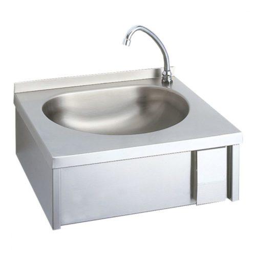 Handwaschbecken mit Kniebedienung - Virtus - Gastroworld-24