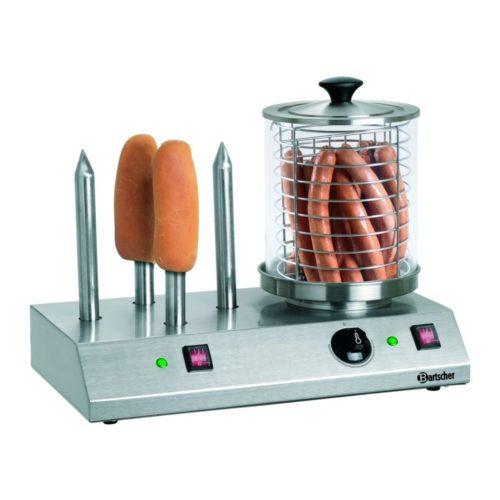 Hot Dog-Gerät, 4 Toaststangen - Bartscher - Gastroworld-24