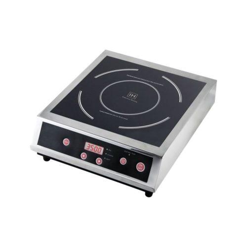 Induktions-Kochfeld, 340x440x125 mm, 230 V, 50 Hz, - GGG - Gastroworld-24