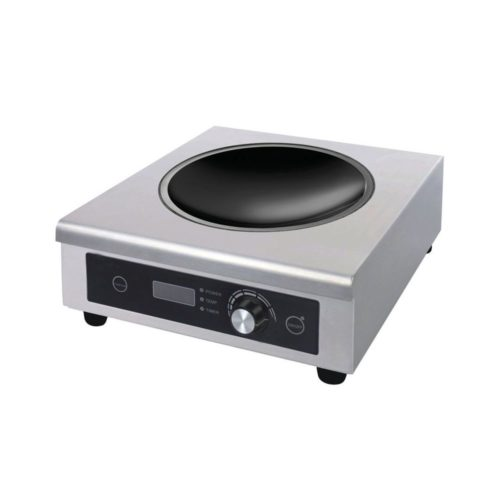 Induktions-Wokherd, 335x380x120 mm, 230 V, 50 Hz, - GGG - Gastroworld-24