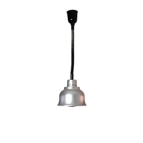 Infrarotlampe, Farbe Aluminium - Virtus - Gastroworld-24
