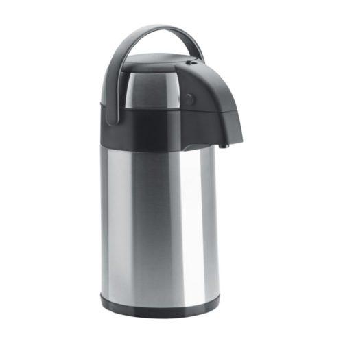 Isolierkanne mit Pumpsystem 2,0 Liter, 150x178x320 mm, - GGG - Gastroworld-24