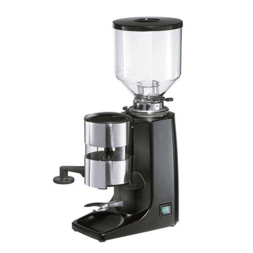 Kaffeemühle, 1,2 kg Behälter, 4-9 g, schwarz - Virtus - Gastroworld-24