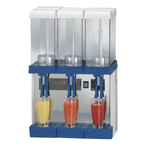 Kaltgetränkedispenser, 3x 9 Liter - Virtus - Gastroworld-24