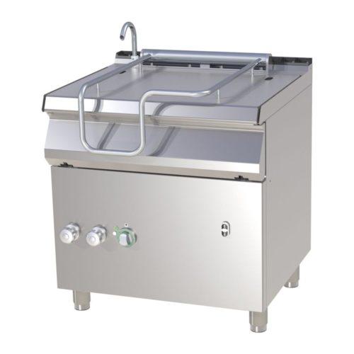 Kippbratpfanne, Elektro, 800x730x900mm, Pfanne aus Edelstahl - GGG - Gastroworld-24
